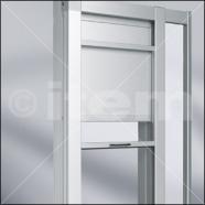 Sistema per porta a scorrimento verticale