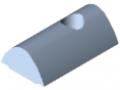 Tassello scorrevole 12 acciaio M8, zincato