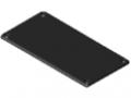 Kanal-Abdeckkappe 160x80, schwarz
