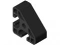 Profilato 8 40x40-45° leggero, nero