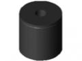 Fermo a tampone M4 D15x15, nero
