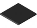 Embout 6 60x60, noir