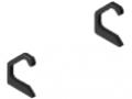 Set calotte profilato per maniglia piegata