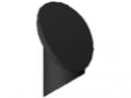Abdeckkappe 8 D7-45°, schwarz