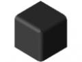 Set di collegamento 6 30x30x30, nero