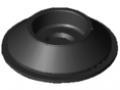 Gummieinsatz D60, schwarz