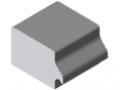 Adapterplatten-Spannprofil N5, natur