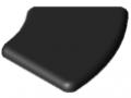 Abdeckkappe 6 R30/60-45°, schwarz
