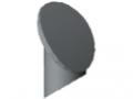 Calotta 8 D7-45°, grigio simile a RAL 7042