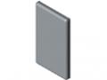 Abdeckkappe Eckverbinder 8 32x18, grau ähnlich RAL 7042