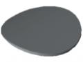 Calotta di copertura D30 R, grigio simile a RAL 7042