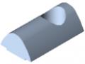 Tassello scorrevole 10 acciaio M10, zincato