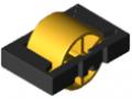 Rolleneinsatz D30, signalgelb ähnlich RAL 1003