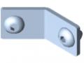 Kit d'assemblage de lisse 5-135°