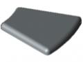 Calotta 8 R40/80-30°, grigio simile a RAL 7042