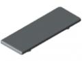Cache équerre 8 80x80, gris semblable RAL 7042