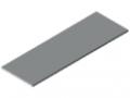 Plans de travail 25-1800x600 revêtement plastique, gris semblable RAL 7035
