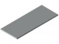 Plan de travail 30-1500x600, revêtement HPL, gris semblable RAL 7035
