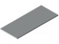 Piano per tavolo 30-1800x750 HPL-plastificato, grigio simile a RAL 7035