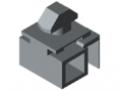 Klemm-Multiblock 6 PA, grau