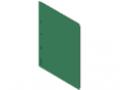 Tasca informativa DIN A4, magnetica, verde