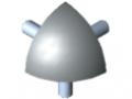 Set di collegamento 5 R20-90°, grigio simile a RAL 7042