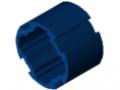 Tube profilé D30, bleu semblable RAL 5017