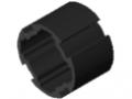 Profilrohr D30 ESD, schwarz ähnlich RAL 9005