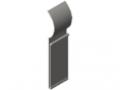Profilato porta-targhetta D30 flex, trasparente
