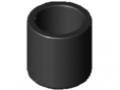 Embout tube D30 ESD, noir
