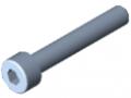 Vite a testa cilindrica DIN 912 M4x25, zincato