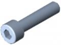 Vite a testa cilindrica DIN 912 M5x22, zincato