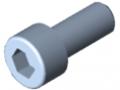 Vite a testa cilindrica DIN 912 M6x14, zincato