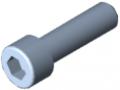 Vite a testa cilindrica DIN 912 M10x35, zincato