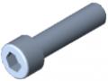 Vite a testa cilindrica DIN 912 M10x40, zincato