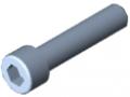 Zylinderschraube DIN 912 M10x45, verzinkt