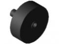 Rullo D30/2-23 ESD, nero simile a RAL 9005