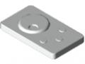 Trasmettitore manuale del varialuce radio per LED