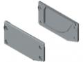 Profilé de rangement 8 120x60 kit de montage, gris semblable RAL 7042
