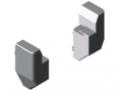 Profilé d'encadrement raccord d'angle 8 60x40 180°