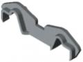 Fermaglio per profilato di separazione K76 K, grigio