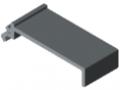 Trennprofil K76 K, grau