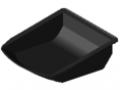 Bac 8 105x130 ESD, noir semblable RAL 9005