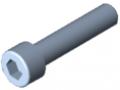 Vite a testa cilindrica DIN 912 M6x28, zincato