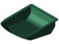 Bac 8 105x130, vert semblable RAL 6024
