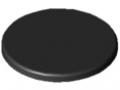 Abdeckkappe Profilrohr D40/D30 ESD, schwarz