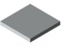 Piano per tavolo 30 laminato HPL, grigio simile a RAL 7035