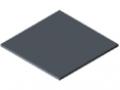 Hohlkammerplatte Con-Pearl<sup>®</sup> 4,8mm antistatisch, grau ähnlich RAL 7046