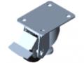 Heberolle D80 140x110 mit Fußpedal antistatisch