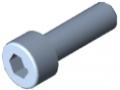 Zylinderschraube DIN 912 M5x16, verzinkt